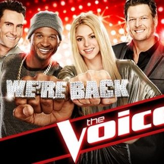 The Voice US Season 6 DVD