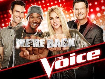 The Voice US Season 6 DVD