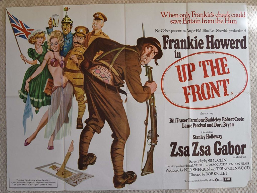 Up the Front (1972) Starring Frankie Howerd