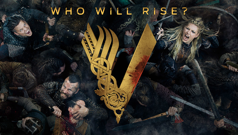 Vikings Season 5 (Parts 1 and 2) 2019 on DVD