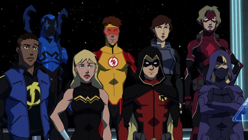 Young Justice Outsiders Episodes 14-26