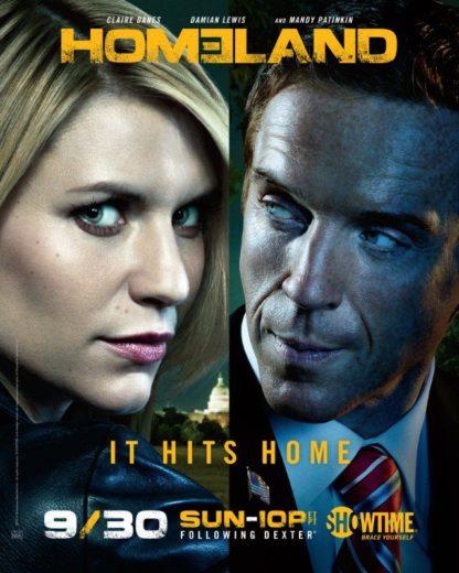 Homeland S5-S7 DVD