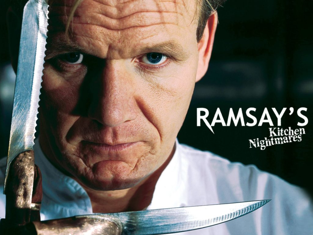 Kitchen Nightmares UK Seasons 1, 2, 3, 4 and 5