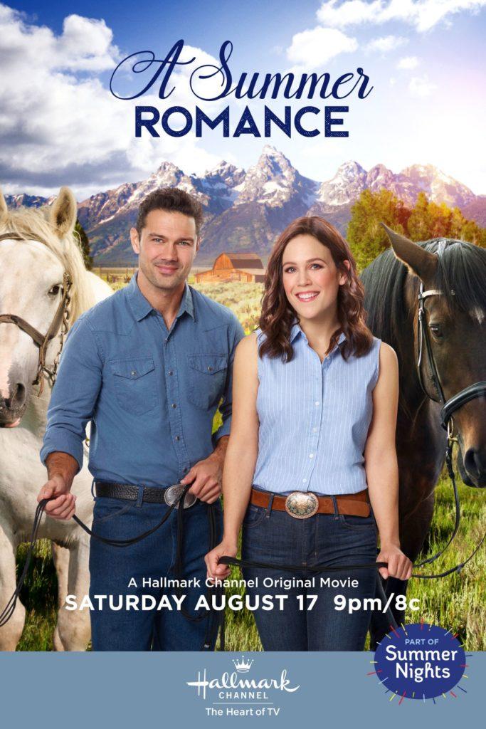 A Summer Romance 2019 with Erin Krakow, Ryan Paevey on DVD