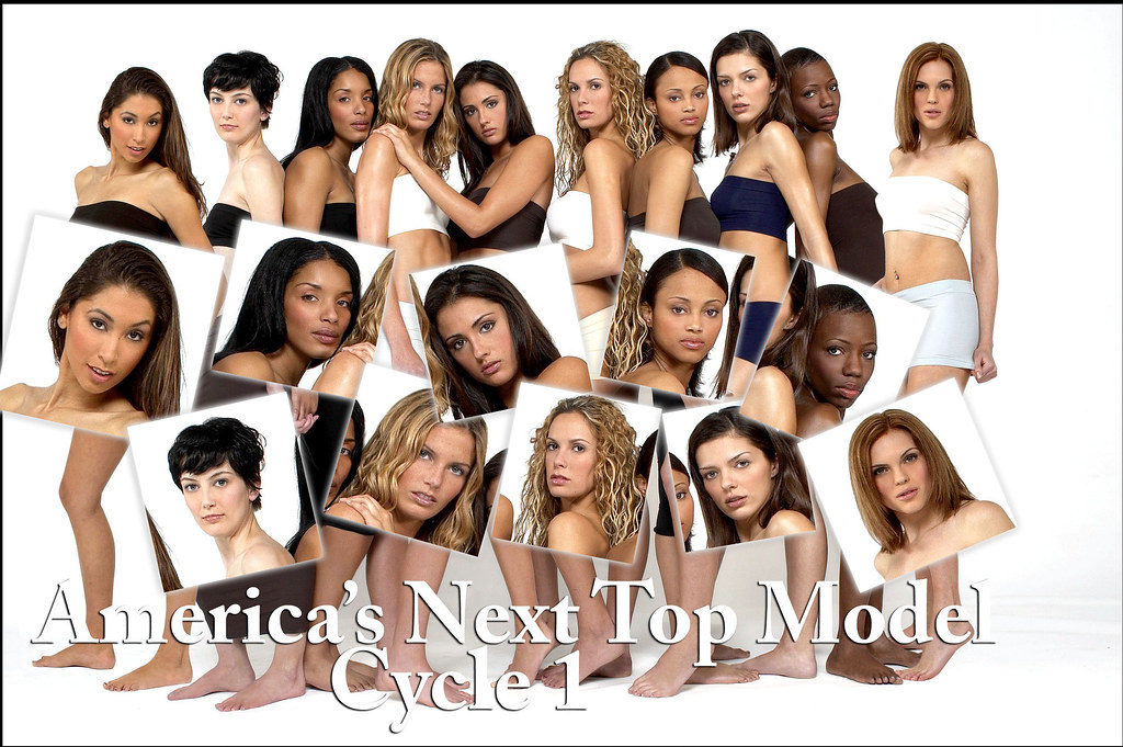 America's Next Top Model Seasons 1, 2, 3 and 4 on DVD