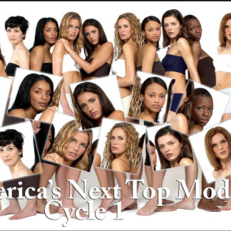 America's Next Top Model S01-S04 DVD