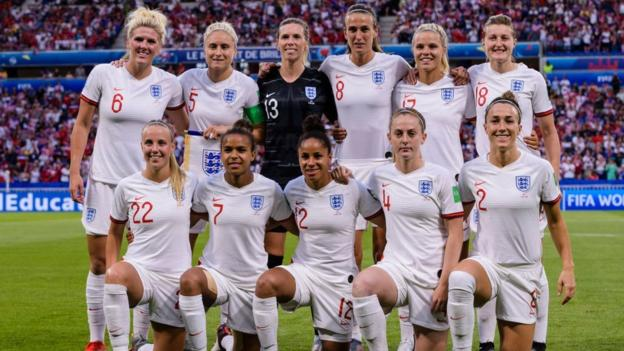 Football Women Internationals England vs Belgium + Norway (2019)