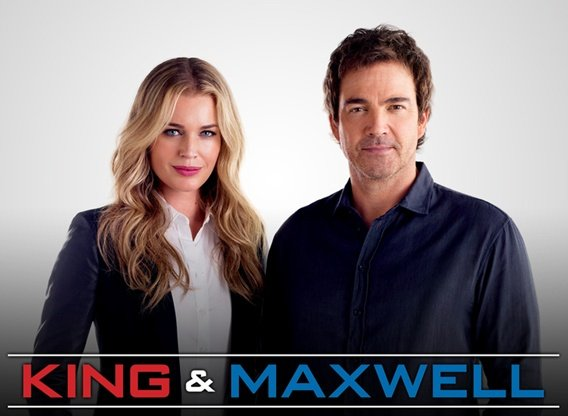 King & Maxwell starring Jon Tenney, Rebecca Romijn
