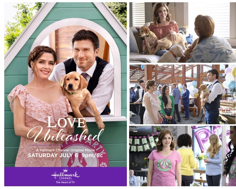 Love Unleashed (2019) starring Jen Lilley, Christopher Russell
