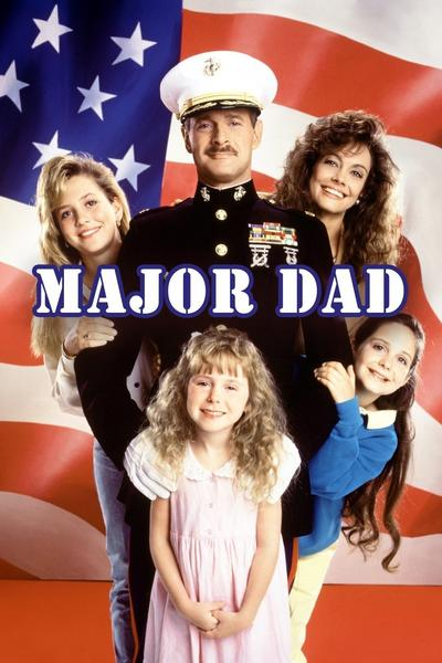Major Dad starring Gerald McRaney Complete Seasons 1, 2, 3 and 4