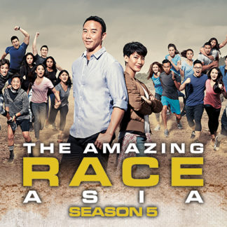 The Amazing Race Asia Season 5 DVD
