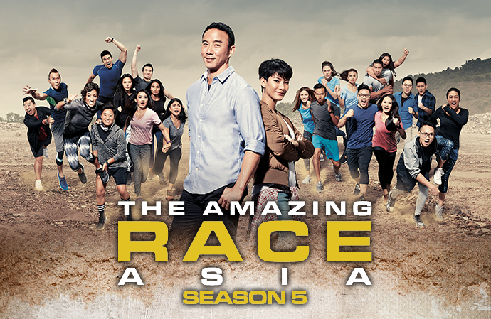 The Amazing Race Asia Season 5 + Finale on DVD