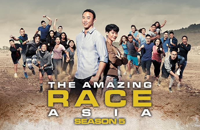 The Amazing Race Asia Season 5 + Finale on DVD