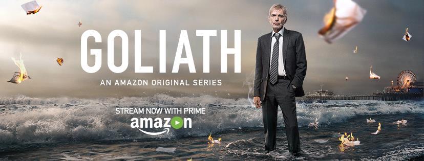 Goliath Season 1 starring Billy Bob Thornton DVD