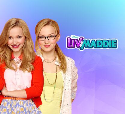 Liv and Maddie DVD