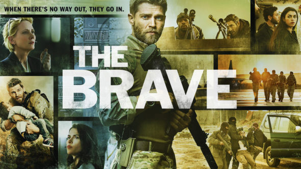 The Brave Season 1 (2018) starring Mike Vogel (DVD)