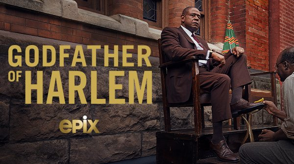 Godfather of Harlem (2019) Season 1 DVD (Available)