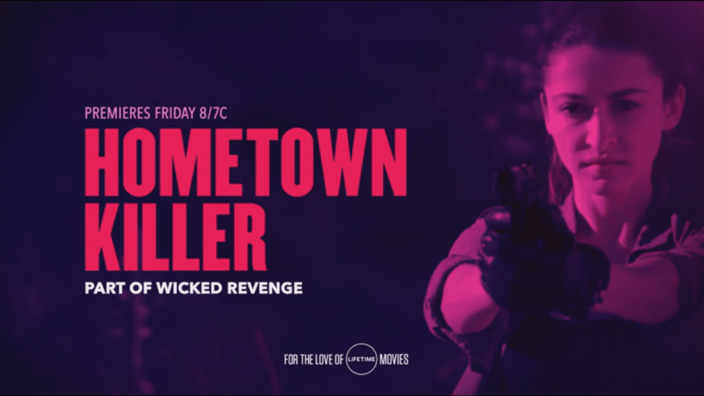 Hometown Killer starring Kaitlyn Black (2018) DVD