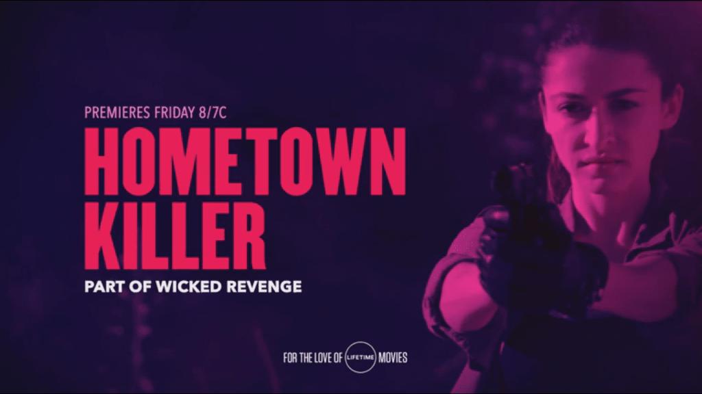 Hometown Killer starring Kaitlyn Black (2018) DVD