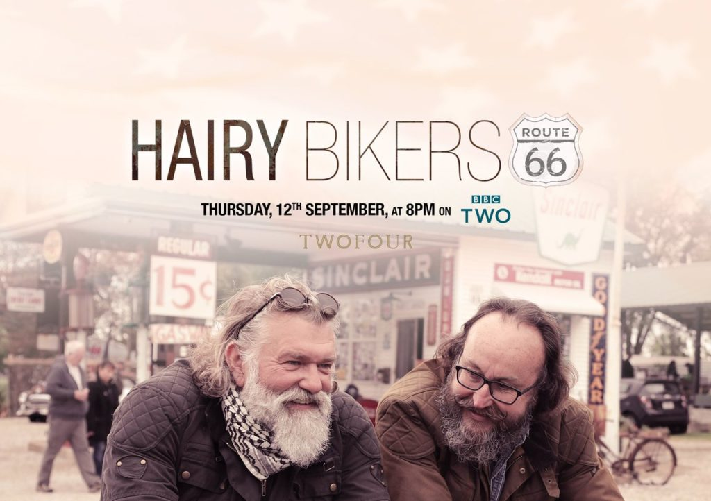 Hairy Bikers: Route 66 Season 1 (2019) on DVD