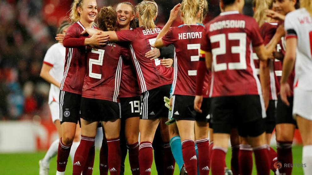 Women's Football Match England vs. Germany (2019)