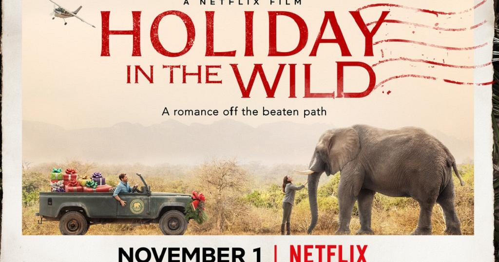 Holiday in the Wild (2019) starring Rob Lowe on DVD