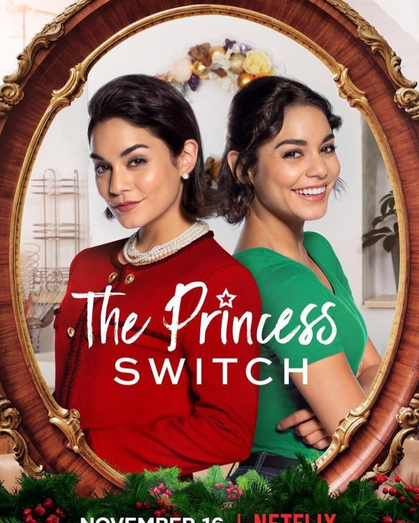 The Princess Switch (2018) starring Vanessa Hudgens DVD