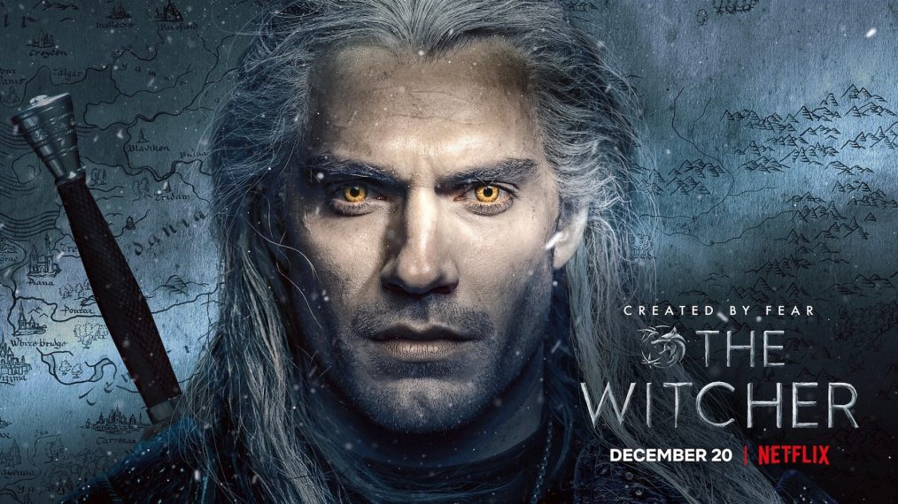 The Witcher Season 1 (2019) with Henry Cavill on DVD