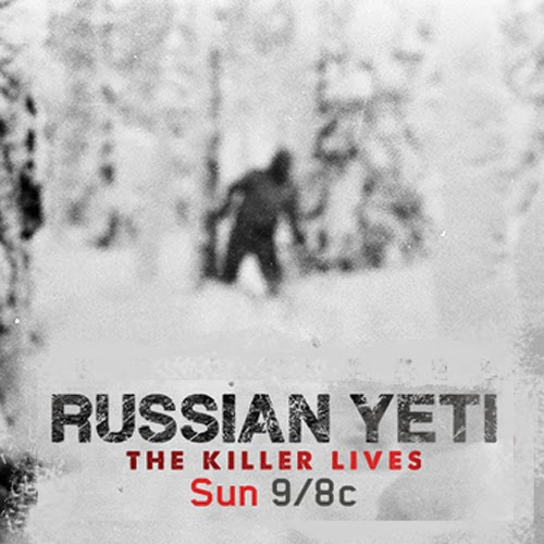 Russian Yeti: The Killer Lives (2014) on DVD