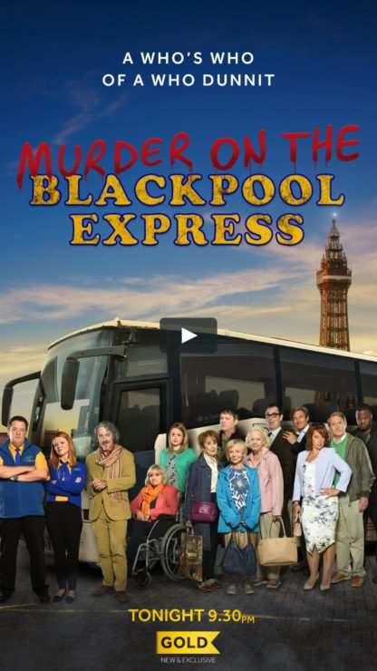 Murder on the Blackpool Express (2017) DVD