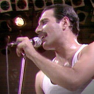 Live Aid (1985) Freddie Mercury DVD