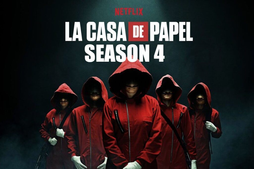 Money Heist Season 4 (2020) DVD