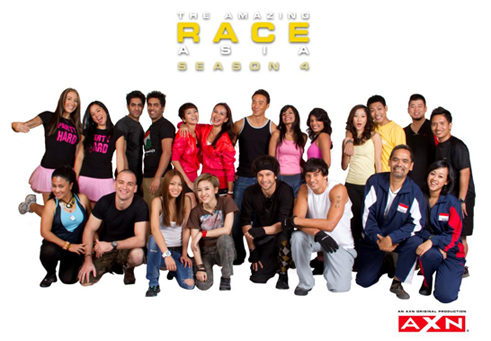 The Amazing Race Asia Season 4 (DVD)